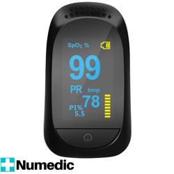 Medyczny PULSOKSYMETR napalcowy pulsometr oksymetr + PI% XP3004BK